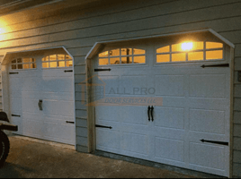 Work completed by All Pro Door Services LLC